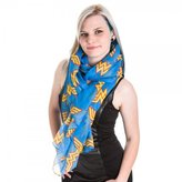 DC Comics Wonder Woman Toss Print Viscose Scarf