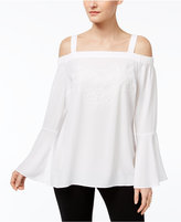 Thalia Sodi Embroidered Peasant Top, Only at Macy's