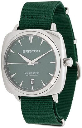 Briston Watches Clubmaster iconic steel watch
