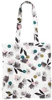 Caroline Gardner Rose Tinted Canvas Tote Bag