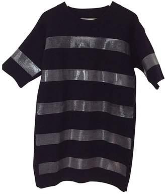 Maison Margiela Navy Wool Dress for Women