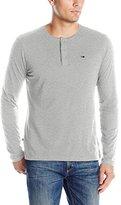Tommy Hilfiger Men's Long Sleeve Jersey Cotton Henley T-Shirt