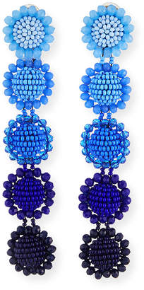 Sachin + Babi Siena Ombre Beaded Drop Earrings