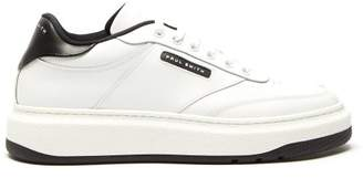 Paul Smith Hackney Leather Trainers - Mens - White