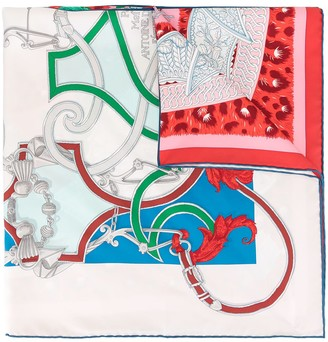 Hermes pre-owned silk Carre 90 scarf