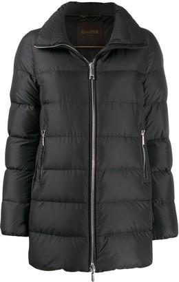 Moorer Zipped-Up Padded Jacket