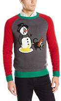 Ugly Christmas Sweater Men's Marking Territory