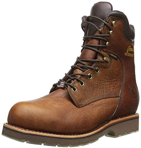 "Chippewa Men's 8"" Waterproof Steel Toe EH 25227 Boot"