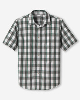 Eddie Bauer Men's Classic Fit Legend Wash Poplin Shirt