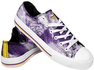 Women's Minnesota Vikings Tie-Dye Canvas Shoe