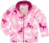 Hatley Fairy Tale Horses Fuzzy Fleece Jacket (Toddler, Little Girls, & Big Girls)