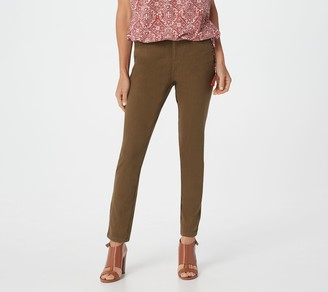 Belle By Kim Gravel Flexibelle Petite 5-Pocket Skinny Jeans