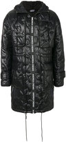 Andrea Crews quilted effect coat