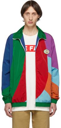 Gucci Multicolor Oversized Waterproof Jacket
