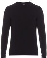 Giorgio Armani Long-sleeved Crew-neck Top