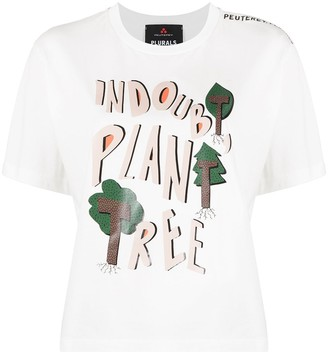 Peuterey graphic print crew-neck T-shirt