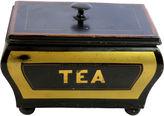 One Kings Lane Vintage Antique Tin Toleware Tea Caddy