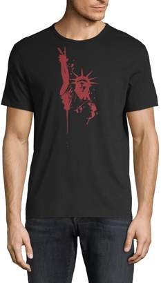 John Varvatos Statue of Liberty Graphic Cotton Tee