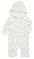 Absorba Unisex Hooded Star Print Coverall - Baby
