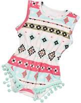 Susenstone Newborn Toddler Baby Girls Printing Bodysuit Romper Jumpsuit Sunsuit Clothes