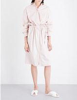 Jil Sander Caramel cotton-poplin shirt dress