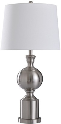 Stylecraft Style Craft Brushed Steel Table Lamp