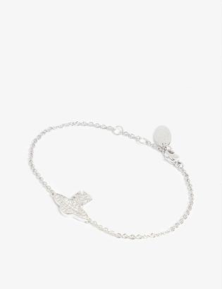 Vivienne Westwood Romina pave orb bracelet