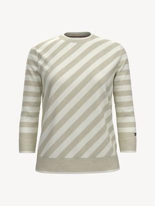 Tommy Hilfiger Essential Diagonal Stripe Sweater