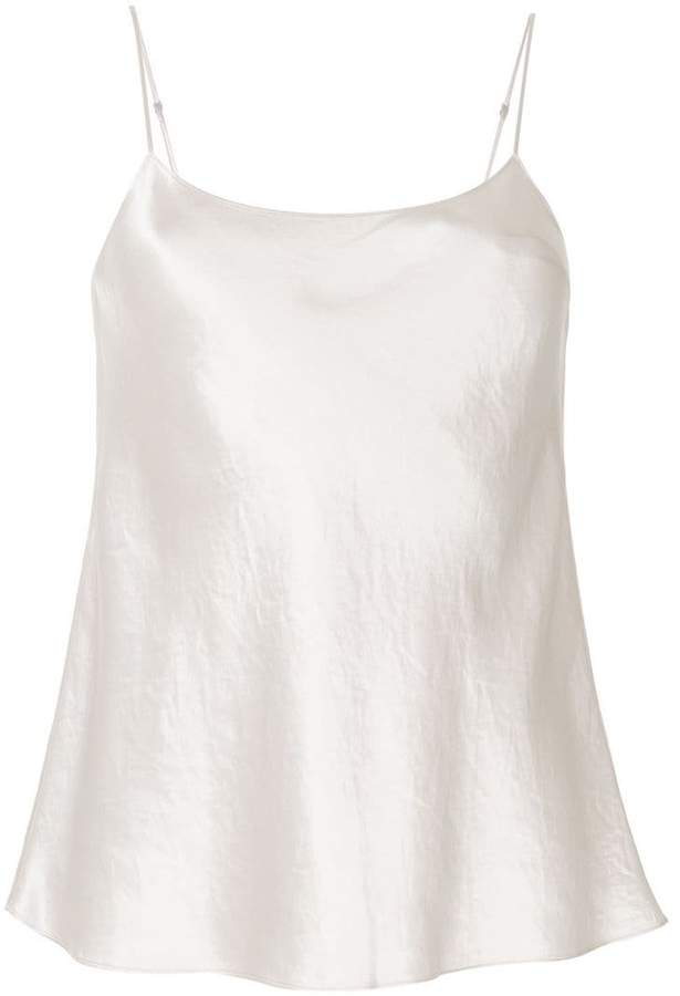 Vince flared tank top