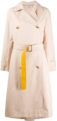 Nina Ricci Colour Block Trench Coat
