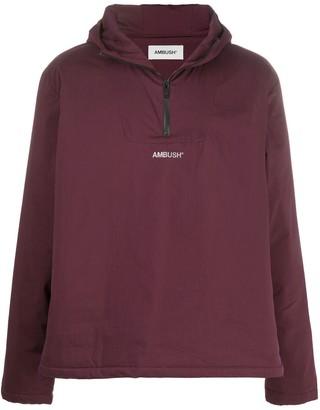 Ambush Logo Zipped Hoodie