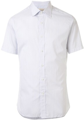 Kent & Curwen Striped Short Sleeve Shirt
