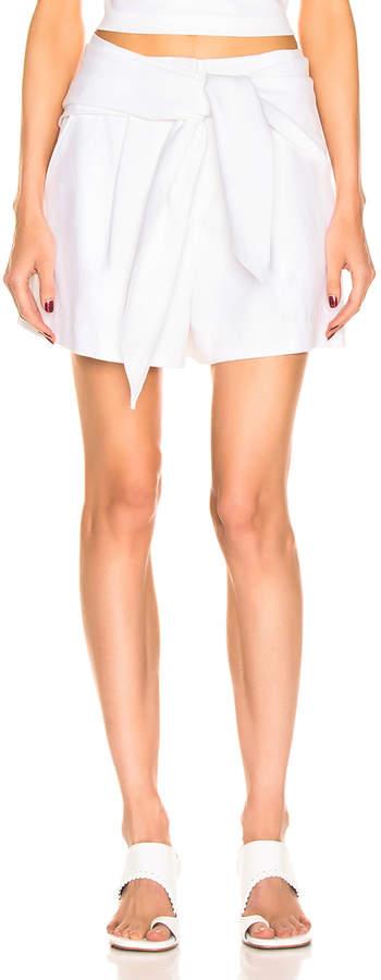 Tibi Suiting Short in White | FWRD