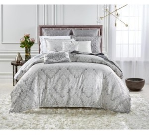 Hotel Collection Closeout! Classic Embossed Jacquard Full/Queen Comforter Bedding