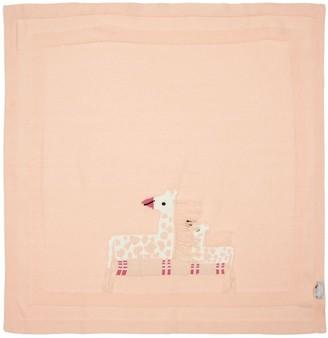 Stella Mccartney Kids Organic Cotton Jacquard Blanket