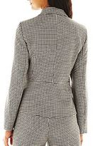 JCPenney 9 & Co.® Houndstooth Jacket