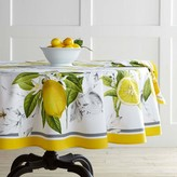 Williams-Sonoma Williams Sonoma Meyer Lemon Round Tablecloth