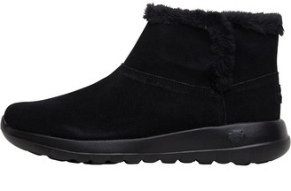 Skechers Womens On The Go Joy Bundle Up Boots Black