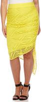 Bisou Bisou Asymmetrical Lace Skirt - Plus