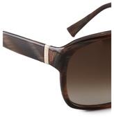 Saint Laurent Plastic Aviator Sunglasses