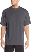Russell Athletic Men's Big-Tall Dri-Power Short Sleeve Crew, Dark Grey