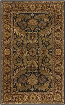 Surya A103-23 Black Ancient Treasures Collection Rug - 2 x 3 Feet