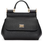 Dolce & Gabbana Black Micro Miss Sicily Bag