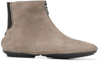 Camper Zipped Ankle Boots