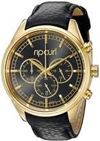 Rip Curl Women's A2760G-GOL Bailey Chrono Analog Display Analog Quartz Black Watch