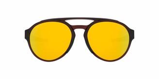 Oakley Men's Forager Polarized Round Sunglasses