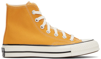 Converse Yellow Chuck 70 High Sneakers