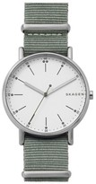 Skagen Signatur Nylon Strap Watch, 40Mm
