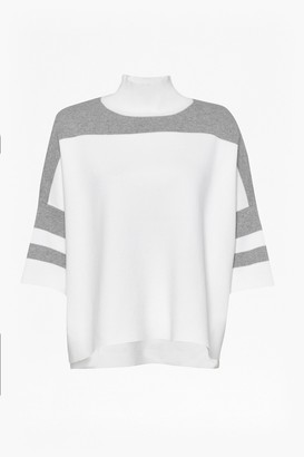 French Connection Mozart Oversized Colour Block Jumper