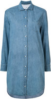 Rag & Bone Jean - denim shirt dress - women - Cotton/Silk - XXS